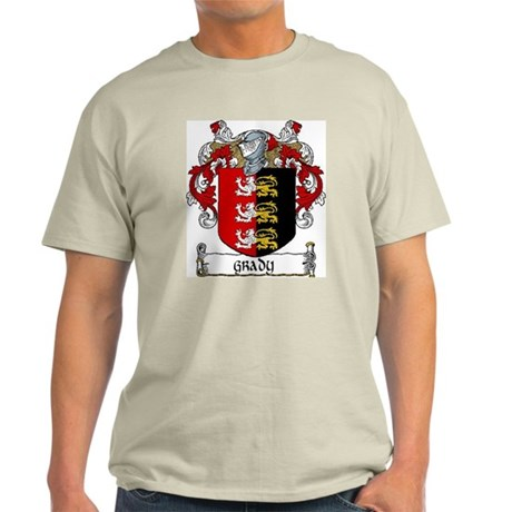 Grady Coat of Arms Light T-Shirt