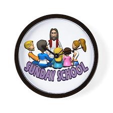Sunday School Wall Clock