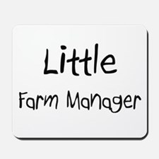 Little Farm Manager Mousepad