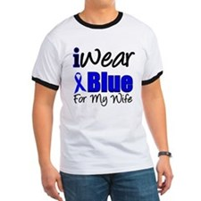 I Wear Blue For My Wife T