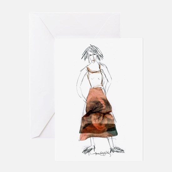 Dress For Stress Greeting Card