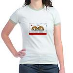 Gay Marriage in California Jr. Ringer T-Shirt