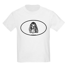 Euro Oval Irish Setter T-Shirt