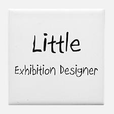 Little Exhibition Designer Tile Coaster