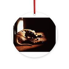 JUBA LEE RIDGEBACK Ornament (Round)