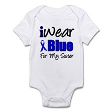 I Wear Blue For My Sister Infant Bodysuit