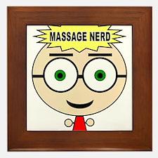 Massage Doll Framed Tile