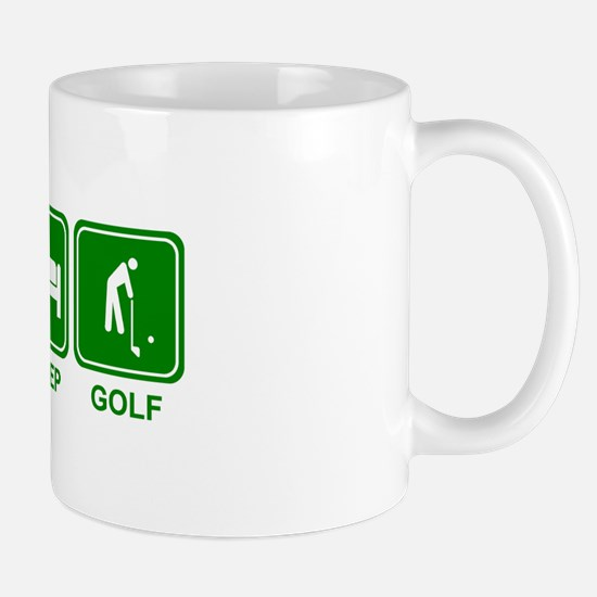 EAT SLEEP GOLF (grn) Mug