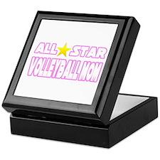 """All Star Volleyball Mom"" Keepsake Box"