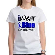 I Wear Blue For My Mom Tee