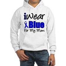 I Wear Blue For My Mom Hoodie