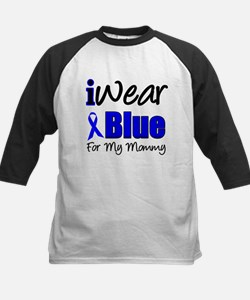 I Wear Blue For My Mommy Tee