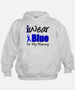 I Wear Blue For My Mommy Hoodie