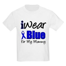 I Wear Blue For My Mommy T-Shirt