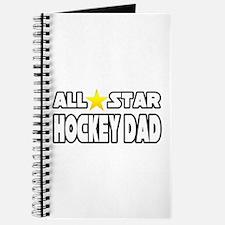"""All Star Hockey Dad"" Journal"