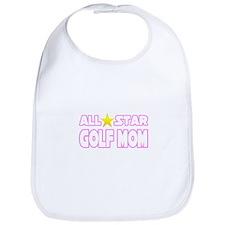 """All Star Golf Mom"" Bib"