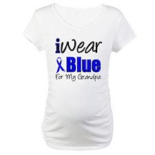 I Wear Blue For My Grandpa Shirt