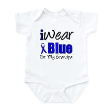 I Wear Blue For My Grandpa Infant Bodysuit