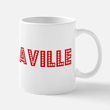 Retro Brazzaville (Red) Mug