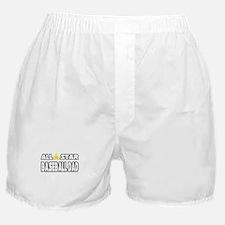 """""""All Star Baseball Dad"""" Boxer Shorts"""