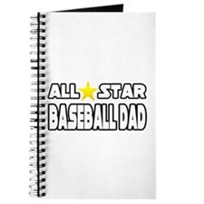 """All Star Baseball Dad"" Journal"