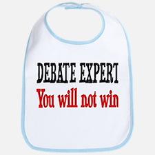 Debate Expert will not win Bib