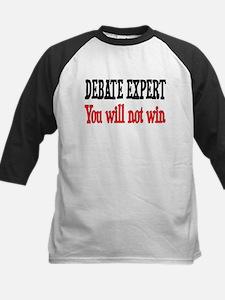 Debate Expert will not win Kids Baseball Jersey
