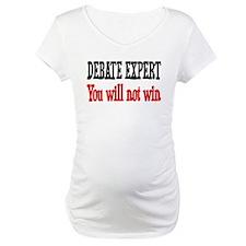 Debate Expert will not win Shirt