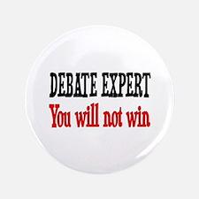 """Debate Expert will not win 3.5"""" Button"""