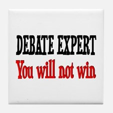 Debate Expert will not win Tile Coaster