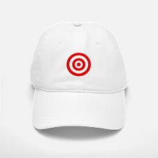 Bullseye Baseball Baseball Cap