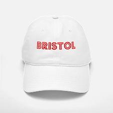 Retro Bristol (Red) Baseball Baseball Cap