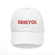 Retro Bristol (Red) Baseball Cap