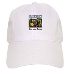 Support Your Local Farmer Baseball Cap