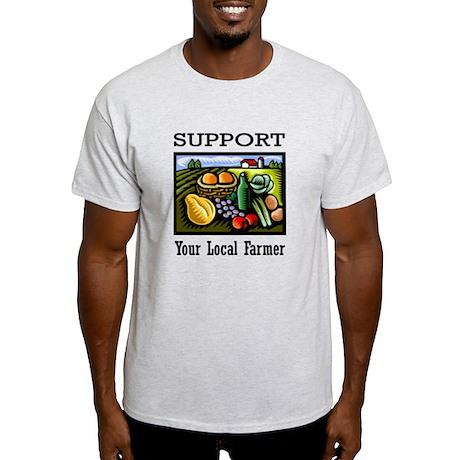 Support Your Local Farmer Light T-Shirt