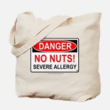 No Nuts-Severe Allergy Tote Bag