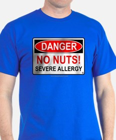 No Nuts-Severe Allergy T-Shirt