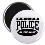 Proud Police Husband Magnet