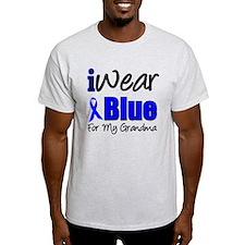 I Wear Blue For My Grandma T-Shirt