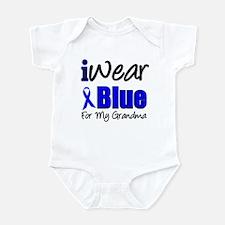I Wear Blue For My Grandma Infant Bodysuit