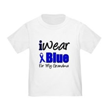 I Wear Blue For My Grandma T