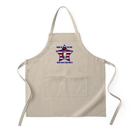 Patriotic Sheltie BBQ Apron