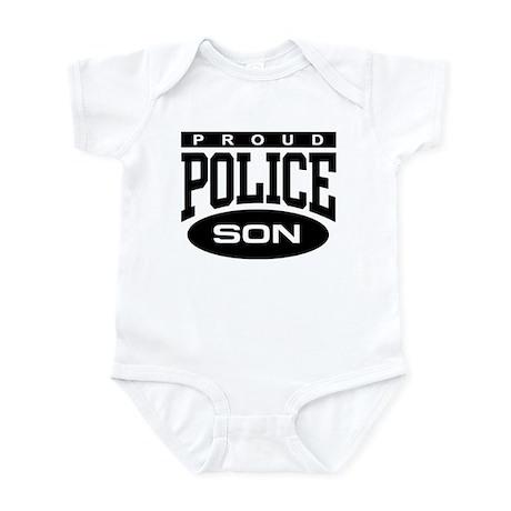 Proud Police Son Infant Bodysuit