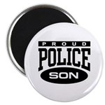 Proud Police Son Magnet