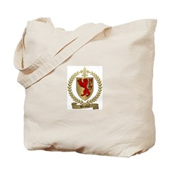 BRIERE Family Crest Tote Bag