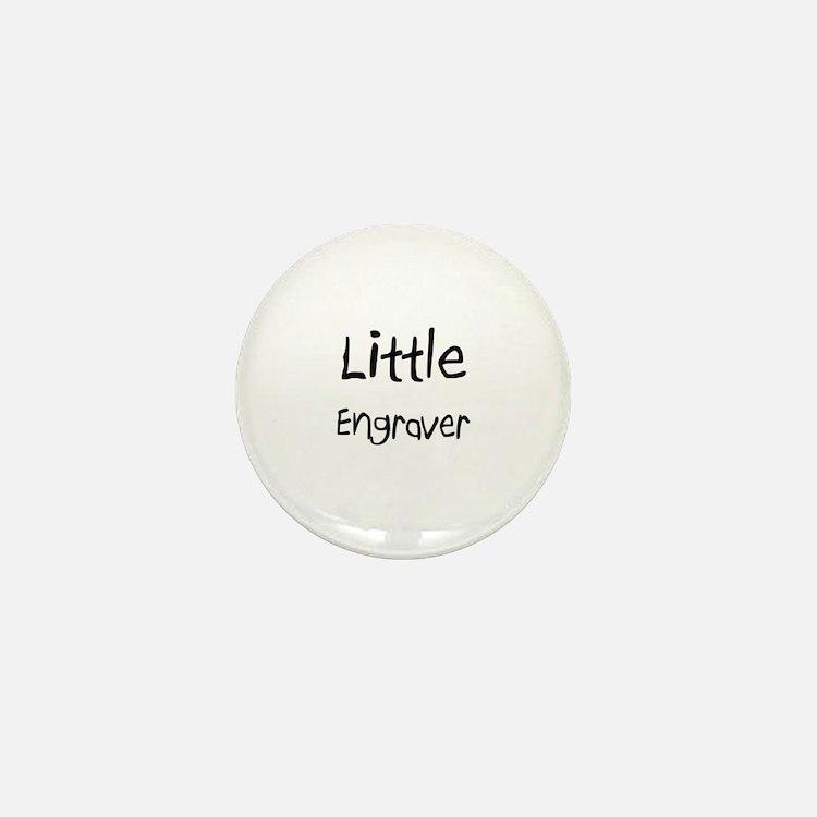 Little Engraver Mini Button