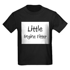 Little Engine Fitter Kids Dark T-Shirt
