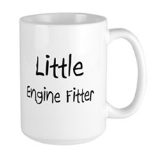 Little Engine Fitter Large Mug