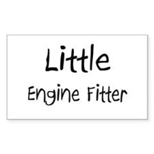 Little Engine Fitter Rectangle Sticker