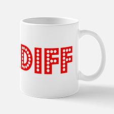 Retro Cardiff (Red) Mug
